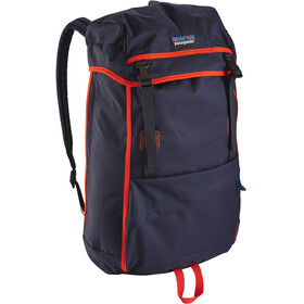 Patagonia Arbor Grande Backpack 32l Navy Blue W/Paintbrush Red
